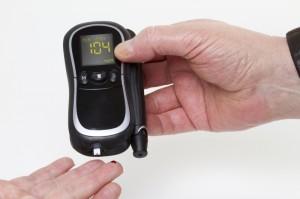 Blood sugar measuring device
